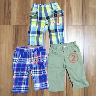 ムージョンジョン(mou jon jon)の男の子 半ズボン 110cm 3点まとめ売り(パンツ/スパッツ)