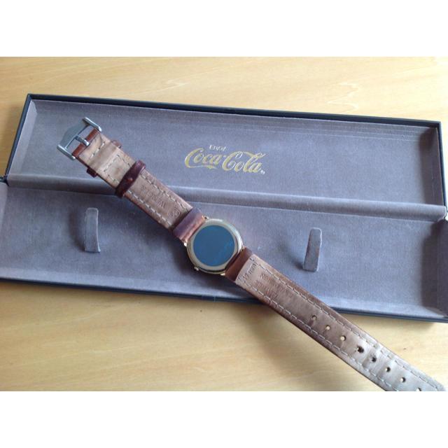 コカ・コーラ(コカコーラ)のコカ・コーラ腕時計 (非売品) エンタメ/ホビーのコレクション(ノベルティグッズ)の商品写真