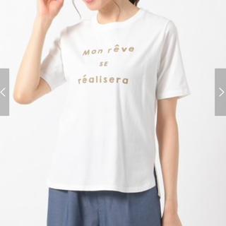 エニィスィス(anySiS)のロゴプリント Tシャツ(Tシャツ/カットソー(半袖/袖なし))