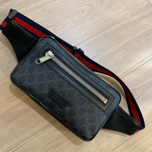 Gucci(グッチ)のGUCCI    ソフト GGスプリーム ベルトバッグ メンズのバッグ(ボディーバッグ)の商品写真