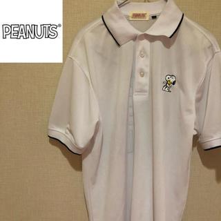 ピーナッツ(PEANUTS)の【スヌーピー好き必見!】ピーナッツ 胸元ワンポイント バックプリント ポロシャツ(ポロシャツ)
