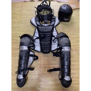 ゼット(ZETT)のゼット キャッチャー防具一式 軟式野球(防具)