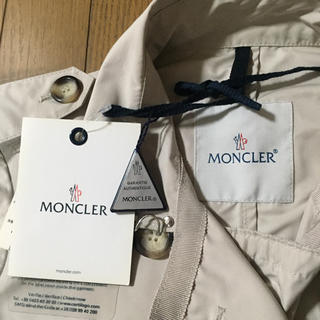 モンクレール(MONCLER)のMONCLER モンクレール0*トレンチコート*雨の日に❗️レインコート(トレンチコート)