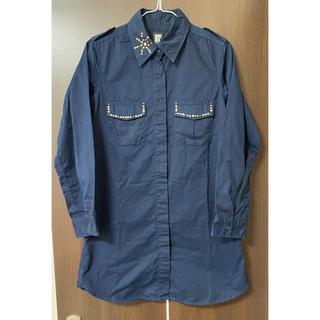 グラニフ(Design Tshirts Store graniph)のグラニフ シャツ ワンピース チュニック ディーゼル好きな方にも(シャツ/ブラウス(長袖/七分))