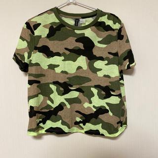 エイチアンドエム(H&M)の新品迷彩Tシャツ (Tシャツ(半袖/袖なし))