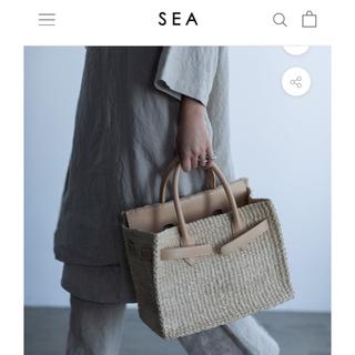 SEA - SEA かごバッグ バーキン ラテ medium 2020