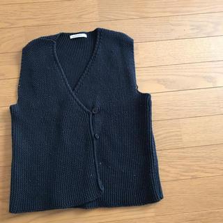 韓国子供服 monmimi ニットベスト
