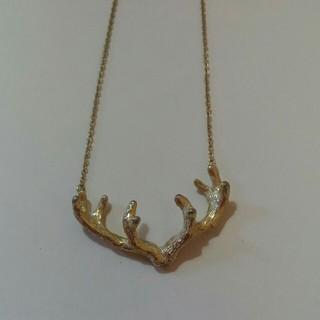 カオリノモリ(カオリノモリ)のカオリノモリ 鹿の角 ネックレス(ネックレス)