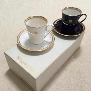 コウランシャ(香蘭社)の香蘭社 ペアカップ&ソーサーセット(グラス/カップ)