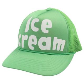 ビリオネアボーイズクラブ(BBC)のBBC・ICE CREAM / メッシュキャップ グリーン(キャップ)