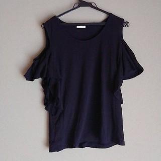 ジーユー(GU)のGU、肩出しトップス(Tシャツ(半袖/袖なし))