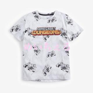 マイクロソフト(Microsoft)の【新品】ホワイト Minecraft ダンジョングラフィックTシャツ(オールド)(Tシャツ/カットソー)