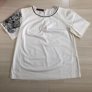 ヴィヴィアンタム(VIVIENNE TAM)の最終値下げ VIVIENNE TAM 袖刺繍Tシャツ サイズ1(Tシャツ(半袖/袖なし))