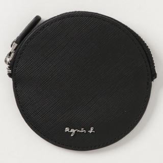 アニエスベー(agnes b.)の新品未使用 agnes b. コインケース ブラック(コインケース/小銭入れ)