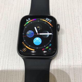 アップルウォッチ(Apple Watch)のApple Watch  series 5 GPS 44mm アルミ(腕時計(デジタル))