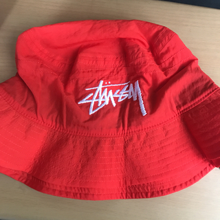 ナイキ(NIKE)のStussy Nike Bucket Hat Red(ハット)