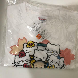 ハローキティ(ハローキティ)の新品 キティちゃん Hello Kitty tシャツ 大丸 コラボ(Tシャツ/カットソー)