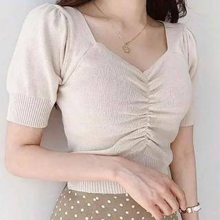 ゴゴシング(GOGOSING)の最安値セール サマーニット 半袖(カットソー(半袖/袖なし))