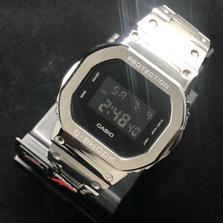 CASIO G-SHOCK dw-5600bbn-1er フルメタル カスタム(腕時計(デジタル))