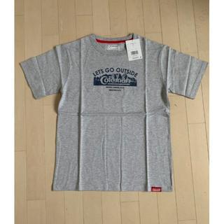 新品未使用 コールマンTシャツ Sサイズ グレー メンズ coleman