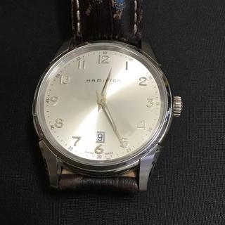 ハミルトン(Hamilton)のハミルトン時計男性用(レザーベルト)
