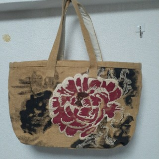 ヴィヴィアンウエストウッド(Vivienne Westwood)のGINZA6 購入 刺繍&ペイント未使用トートバッグ(トートバッグ)