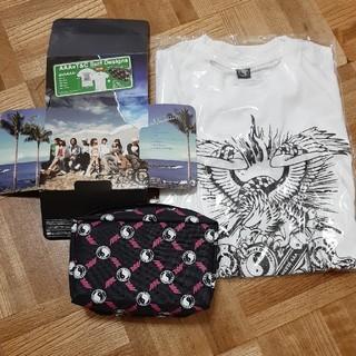 トリプルエー(AAA)のレア物 AAA×T&C SurfDesign alohAAA! Tシャツ、ポーチ(Tシャツ/カットソー(半袖/袖なし))