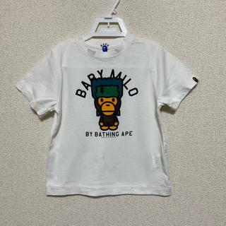 アベイシングエイプ(A BATHING APE)のベイプキッズ BAPE APE 半袖Tシャツ ア ベイシング エイプ 110(Tシャツ/カットソー)