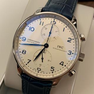 インターナショナルウォッチカンパニー(IWC)のLA7様専用 IW371446 ポルトギーゼ クロノグラフ 腕時計(腕時計(アナログ))