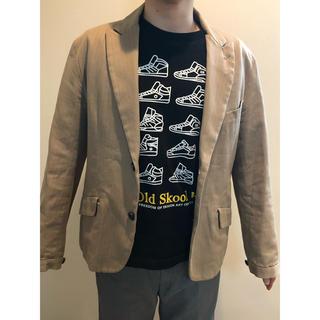 ピーピーエフエム(PPFM)のPPFM ベージュのジャケット(テーラードジャケット)