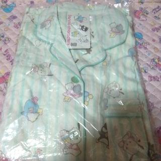 サンリオ(サンリオ)の80Sサンリオキャラクターズ半袖シャツパジャマ    Lサイズ グリーン(パジャマ)