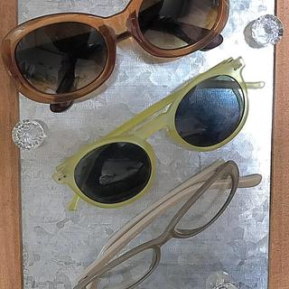 ユニクロ(UNIQLO)のサングラス3点(サングラス/メガネ)