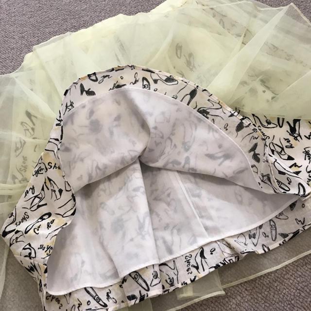 snidel(スナイデル)の(スナイデル) SNIDEL オーガンジー スカート レディースのスカート(ミニスカート)の商品写真