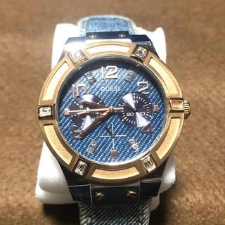 ゲス(GUESS)のゲス GUESS  デニム 時計(腕時計(アナログ))