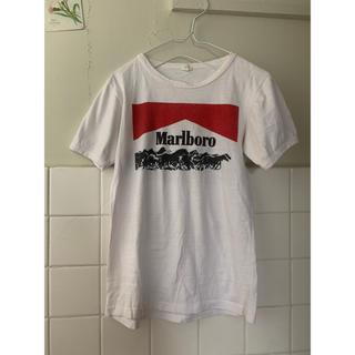 サンタモニカ(Santa Monica)のvintage 80s EURO Marlboro マルボロ Tシャツ(Tシャツ(長袖/七分))