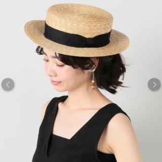 イエナ(IENA)のIENA Anthony Peto カンカン帽(麦わら帽子/ストローハット)