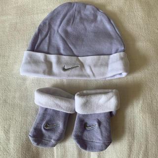 NIKE - ナイキ NIKE/ベビー帽子 靴下 新生児 0〜6m