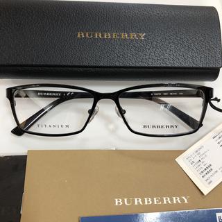 バーバリー(BURBERRY)のバーバリー BURBERRY BE1292TD 1001 眼鏡 メガネフレーム(サングラス/メガネ)