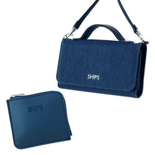 シップス(SHIPS)のIn Red ショルダーバッグ ポシェット ミニ財布セット(ショルダーバッグ)