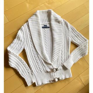 ラルフローレン(Ralph Lauren)のラルフローレン サマーカーディガン セーター hand knit 白 美品❗(ニット/セーター)