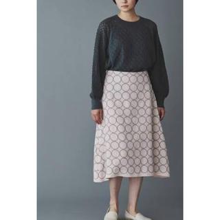 ミナペルホネン(mina perhonen)のミナペルホネン tambourineスカート(ひざ丈スカート)