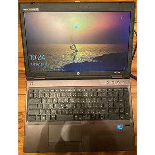 ヒューレットパッカード(HP)のHP ノートPC ProBook無線WiFi内蔵Windows10(ノートPC)