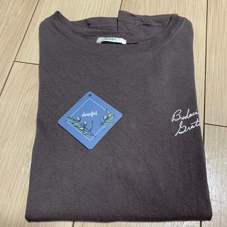 シマムラ(しまむら)のしまむら×プチプラのあやさんコラボ Tシャツ(Tシャツ(半袖/袖なし))