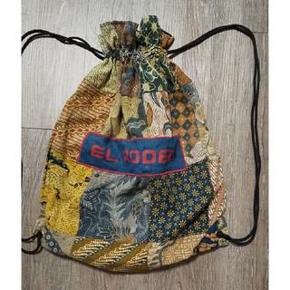エルロデオ(EL RODEO)のバティック パッチワーク巾着リュック(リュック/バックパック)