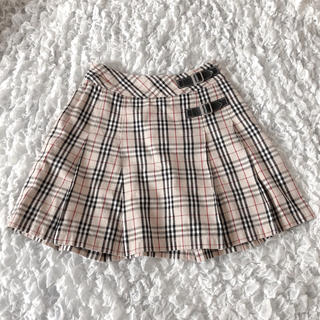 バーバリー(BURBERRY)のBURBERRY スカート 150a(ミニスカート)