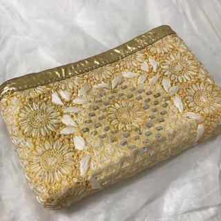 ファティマモロッコ(Fatima Morocco)のファティマモロッコ クラッチバッグ カゴバッグ(かごバッグ/ストローバッグ)