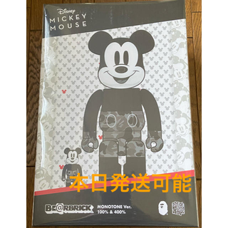 メディコムトイ(MEDICOM TOY)のBE@RBRICK BAPE MICKEY MOUSE 100&400%(その他)