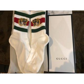 グッチ(Gucci)の新品未使用GUCCIタイガーソックス(ソックス)