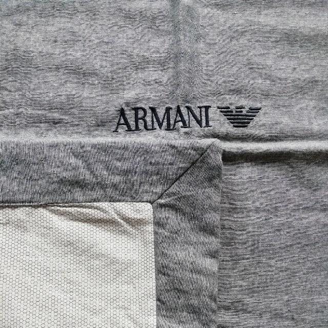 ARMANI JUNIOR(アルマーニ ジュニア)の[最終値下][新品]ARMANI ブランケット キッズ/ベビー/マタニティのこども用ファッション小物(おくるみ/ブランケット)の商品写真