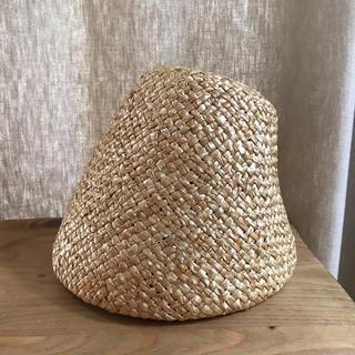 カオリノモリ(カオリノモリ)のノックの帽子屋 麦わら帽子 ハット 帽子 (ハット)